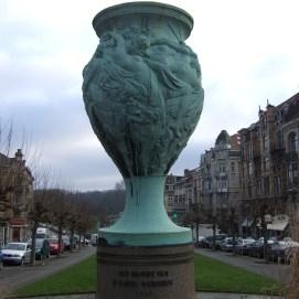 Vase avenue Louis Bertrand | Vaas Louis Bertrandlaan - © Françoise Jurion