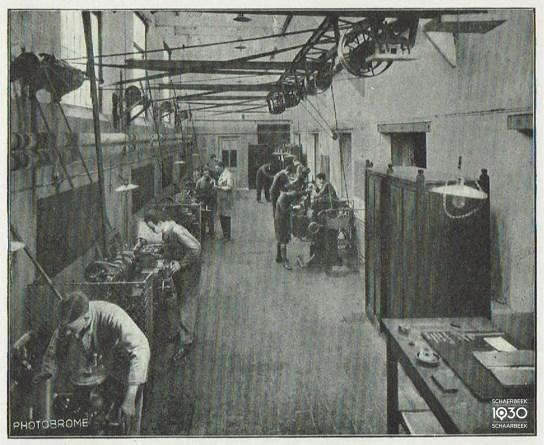 Atelier des machines-outils