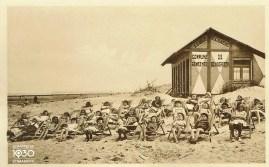 La cabine de plage