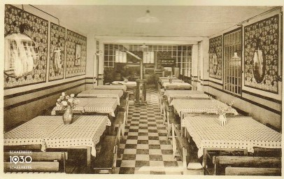 De eetzaal