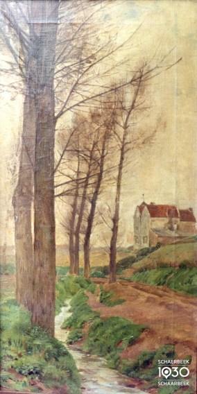 Emile Van Damme-Sylva, « Minneborreweg », Kunstcollectie van de gemeente (inv. 129)