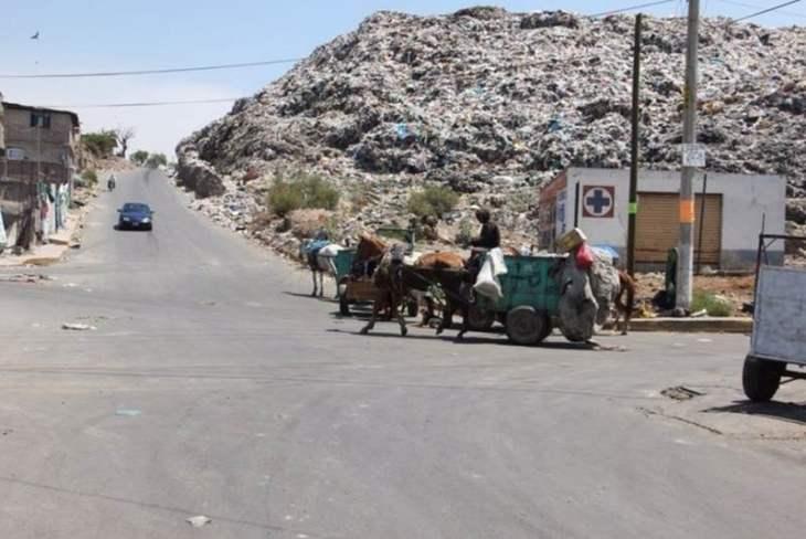 Resultado de imagen para imagenes de tiraderos de basura en mexico