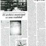14. Artículo publicado en el Boletín «El Sauce» nº 1 sobre el AMSAYS · San Andrés y Sauces
