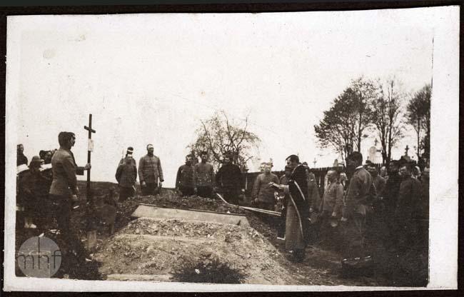 jeńcy rosyjscy, pogrzeb