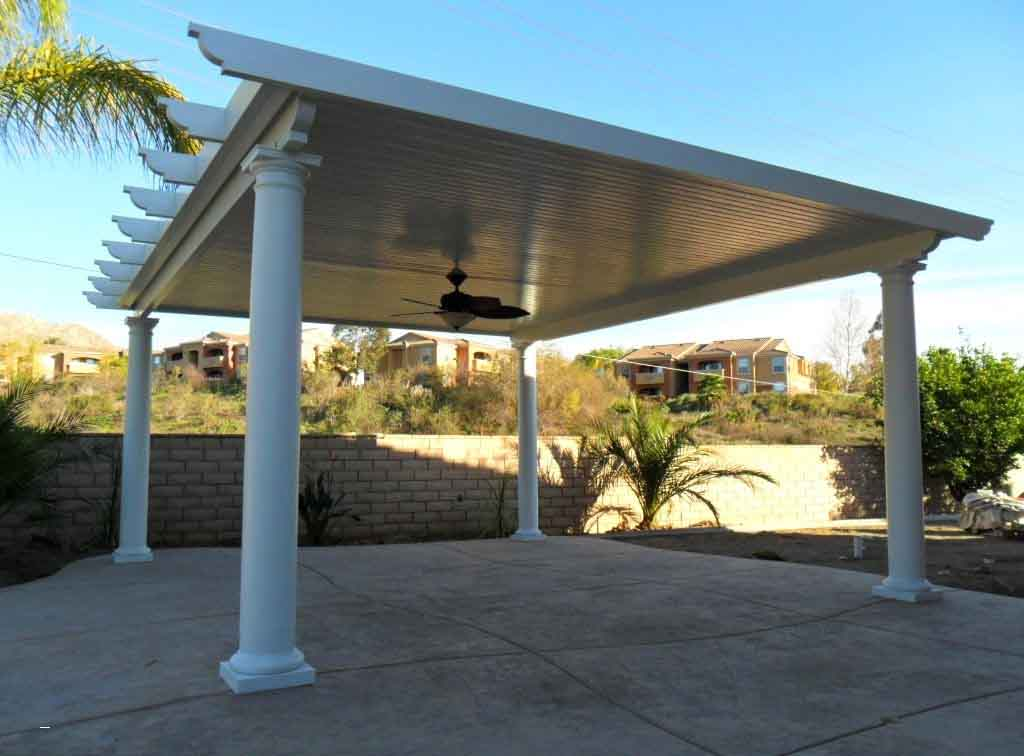 How to Build A Freestanding Patio Cover with Best 10 ... on Patio Cover Ideas Wood id=93354