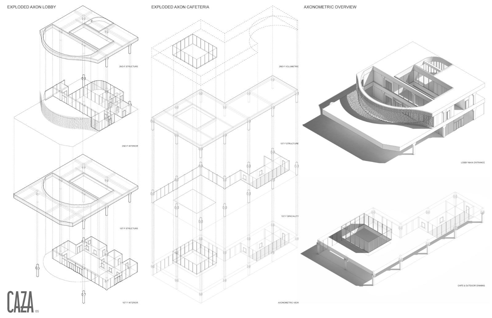 05 Detailed Axonometric Views