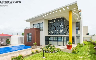 Villa LEC   Atlas Architecture, Benin
