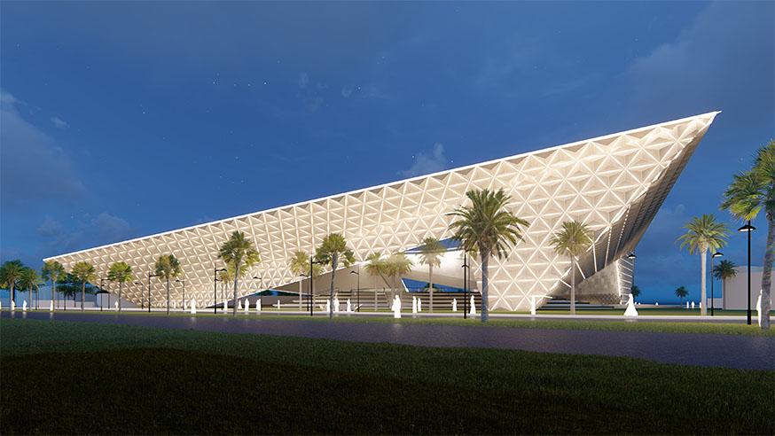 Dar Al-Uloum Library Competition Entry | ArchXenus