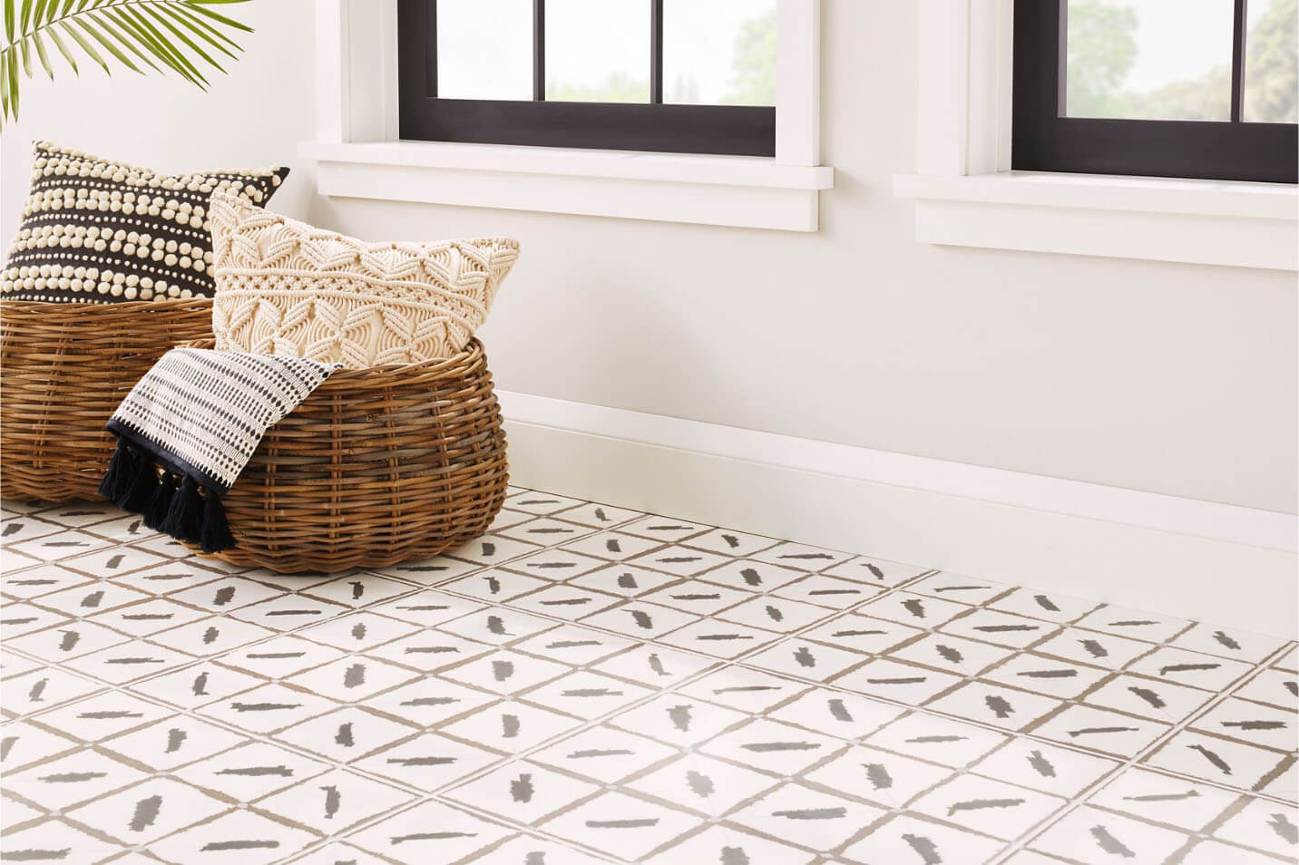 annie selke ikat ceramic tiles