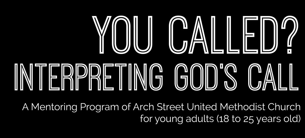 You Called? Interpreting God's Call: A Mentoring Program for Young Adults