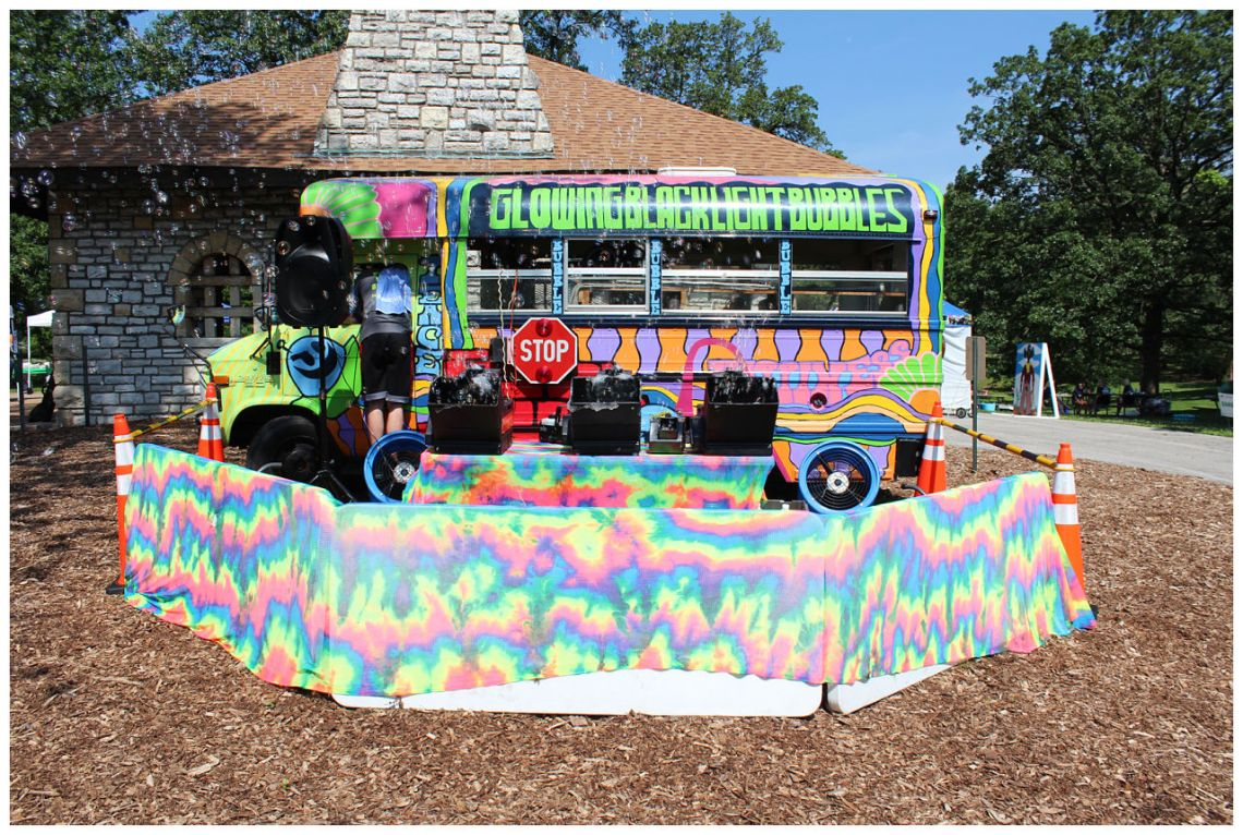 St. Louis Fragile X Walk - Bubble Bus