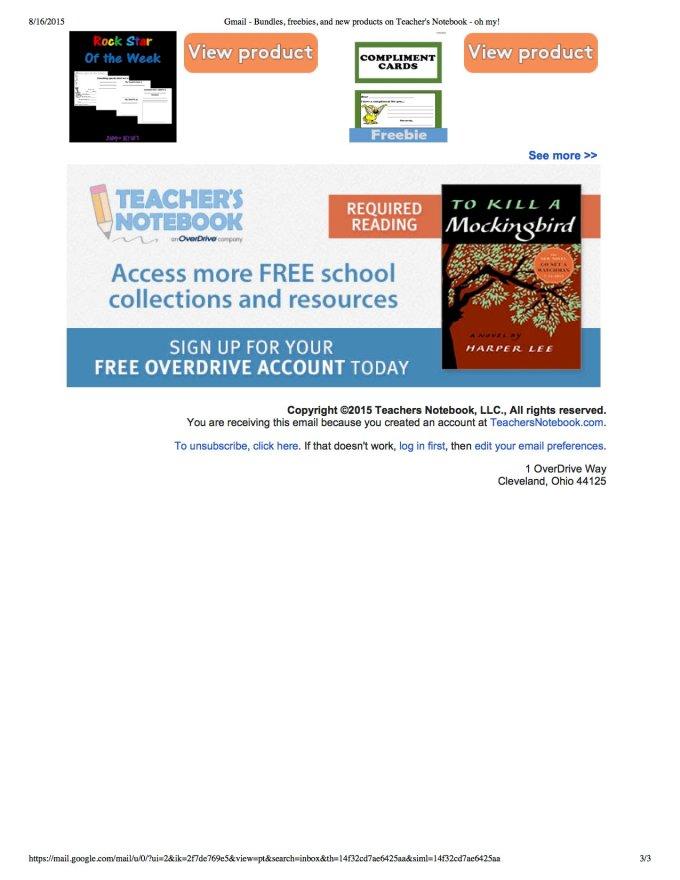 Teachers Notebook Shop Of The Week p3