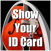 Archtop Music Therapy Show Your ID Card