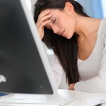 Treatment of headaches at work
