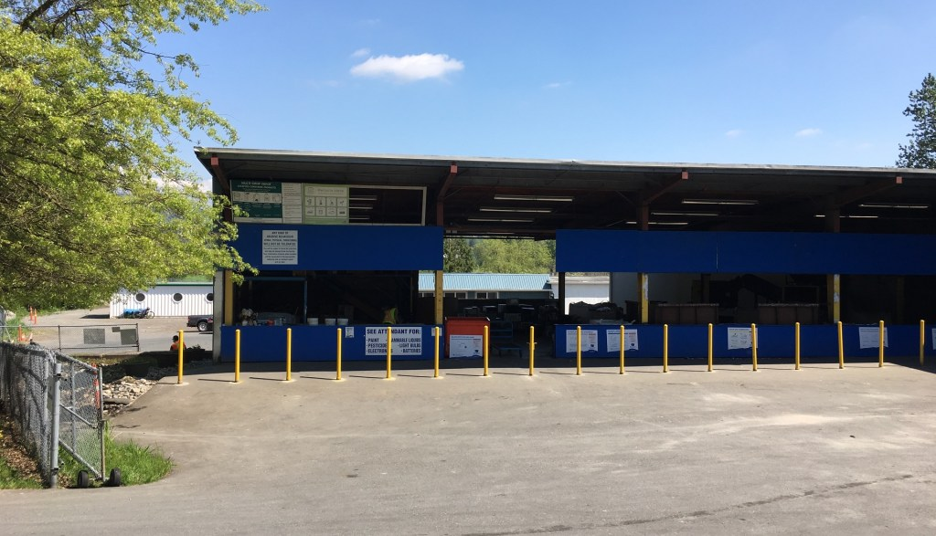 Abbotsford Mission recycling depot building