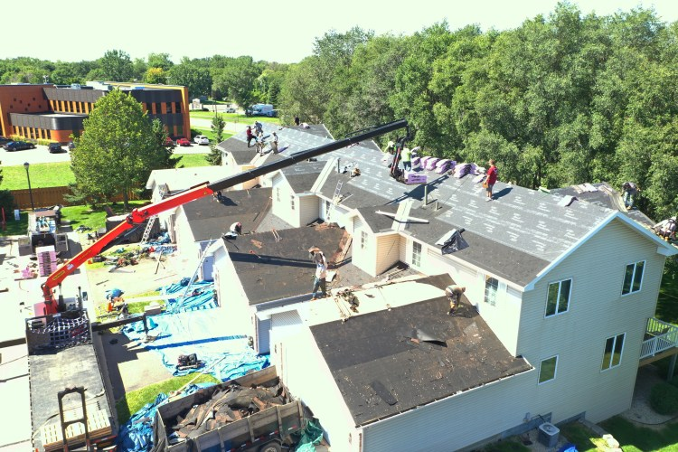 Commercial Roofing, New Roofing, Storm Damage Roofing, Siding, Windows & Gutters