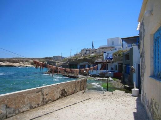 Mandrakia-villaggio di pescatori