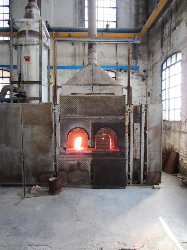 Nason Moretti Fornace in funzione