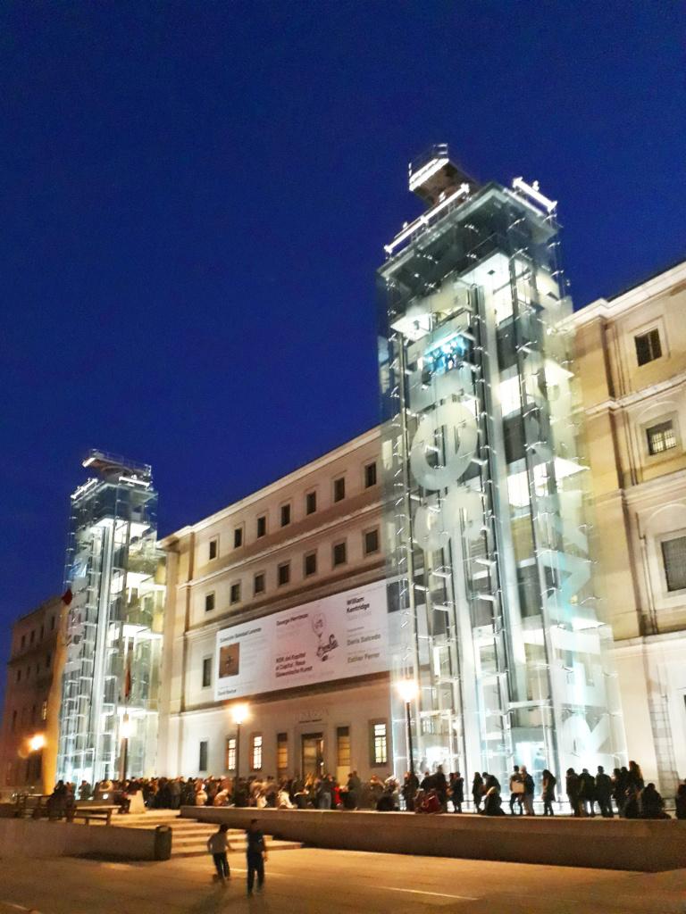 Madrid Museo Reina Sofia