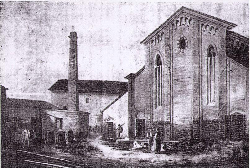 Ex Chiesa Santa Chiara stampa