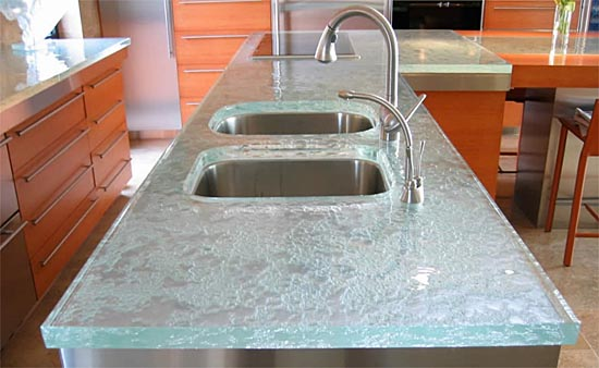 Kitchen glass countertops from ThinkGlass | TCG trending buzz on Animal Crossing Kitchen Counter  id=78764