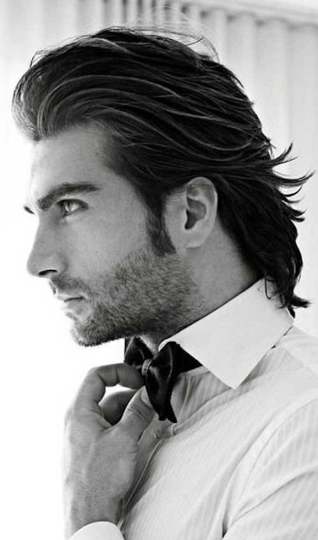 ▷ 1001 + ideas for styling mid length hair for men