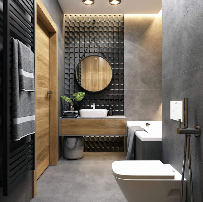 60+ beautiful and modern bathroom designs for small spaces ... on Modern Small Bathroom  id=16739