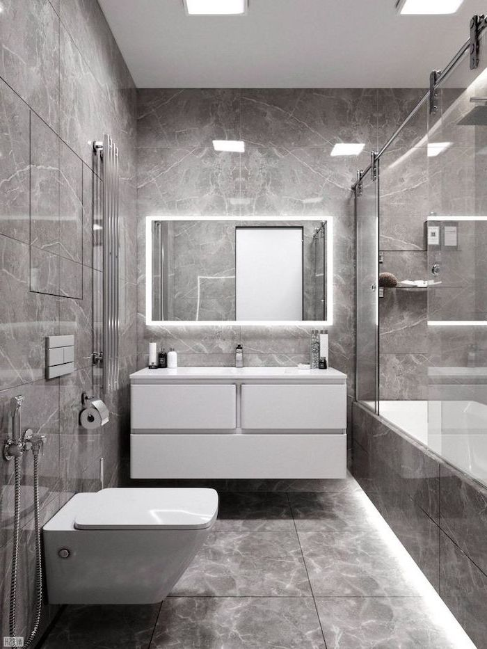 60+ beautiful and modern bathroom designs for small spaces ... on Modern Small Bathroom  id=91703