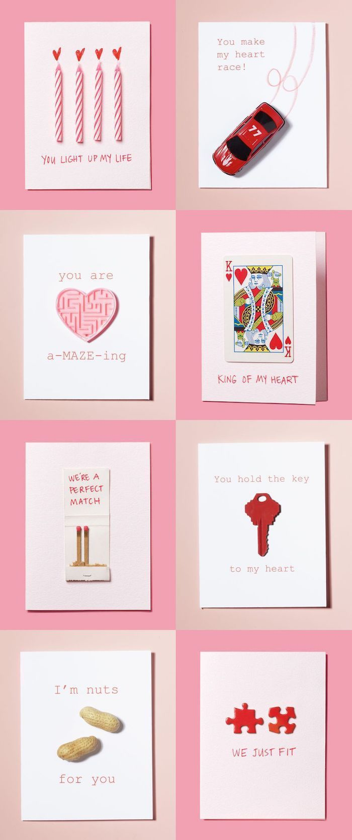 valentine's day handmade cards, special funny messages, creative valentine's day gifts for boyfriend