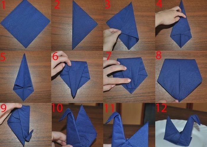 Image detail for -how-to-fold instructions on each napkin to ... | 496x700