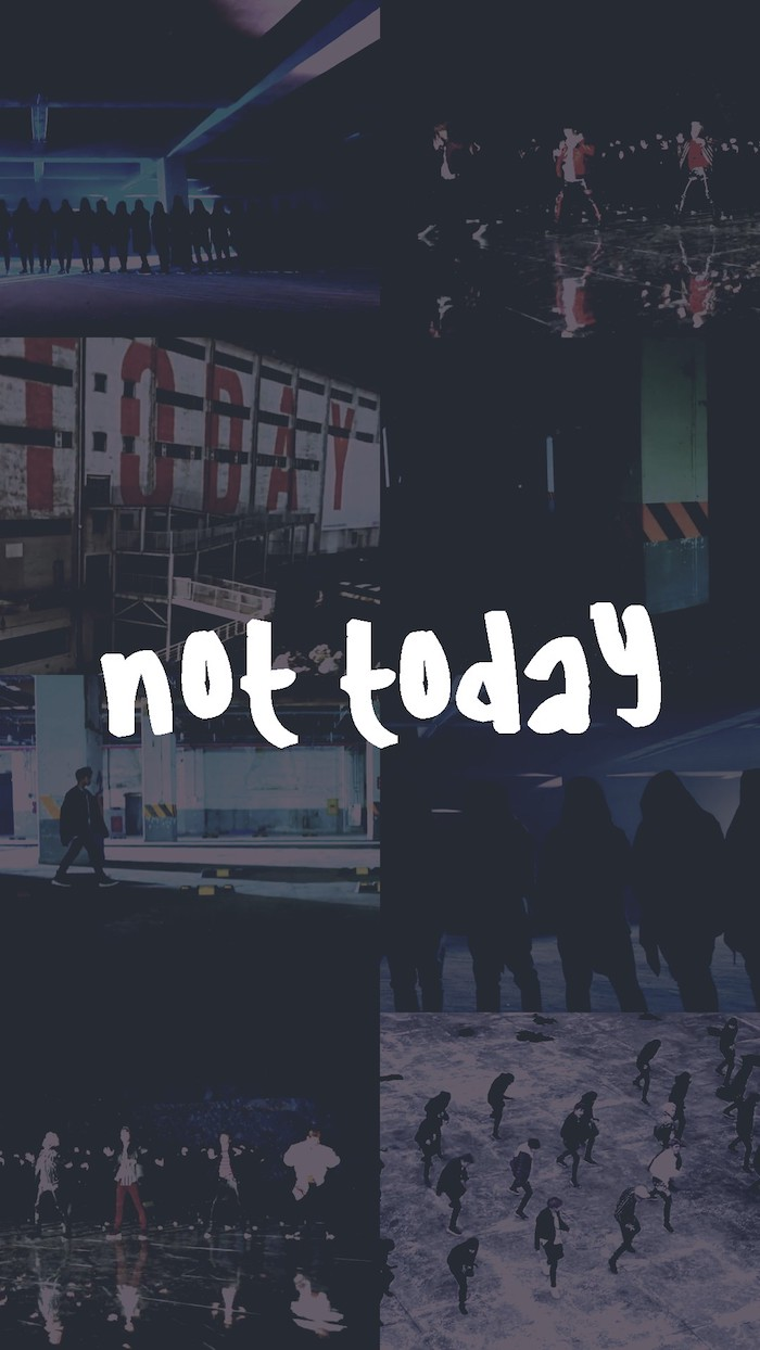 no today, photo collage, black background tumblr, people dancing