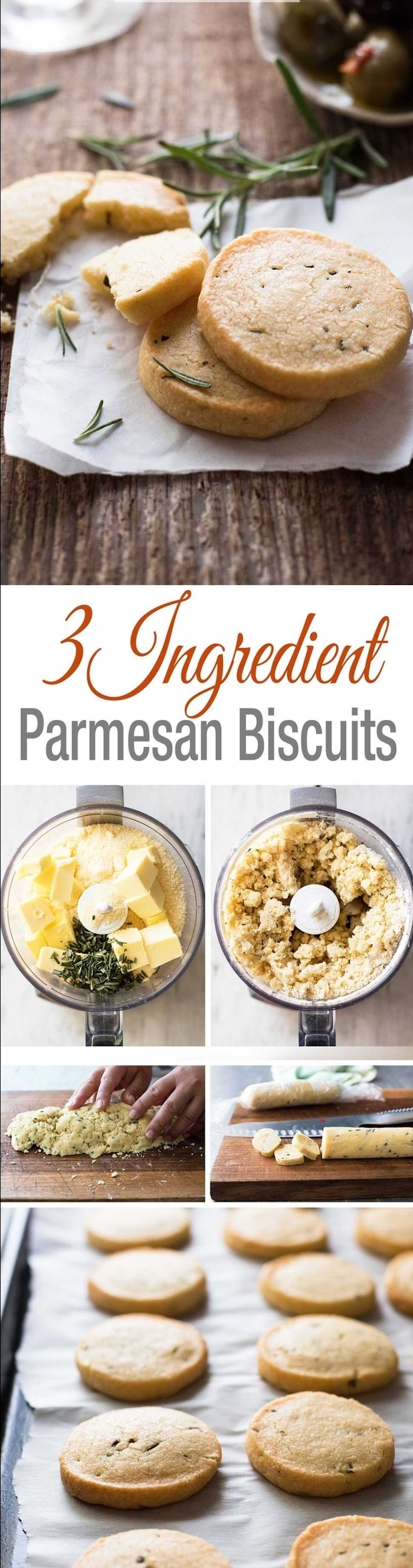 parmesan buscuits, easy vegetarian appetizers, step by step, diy recipe
