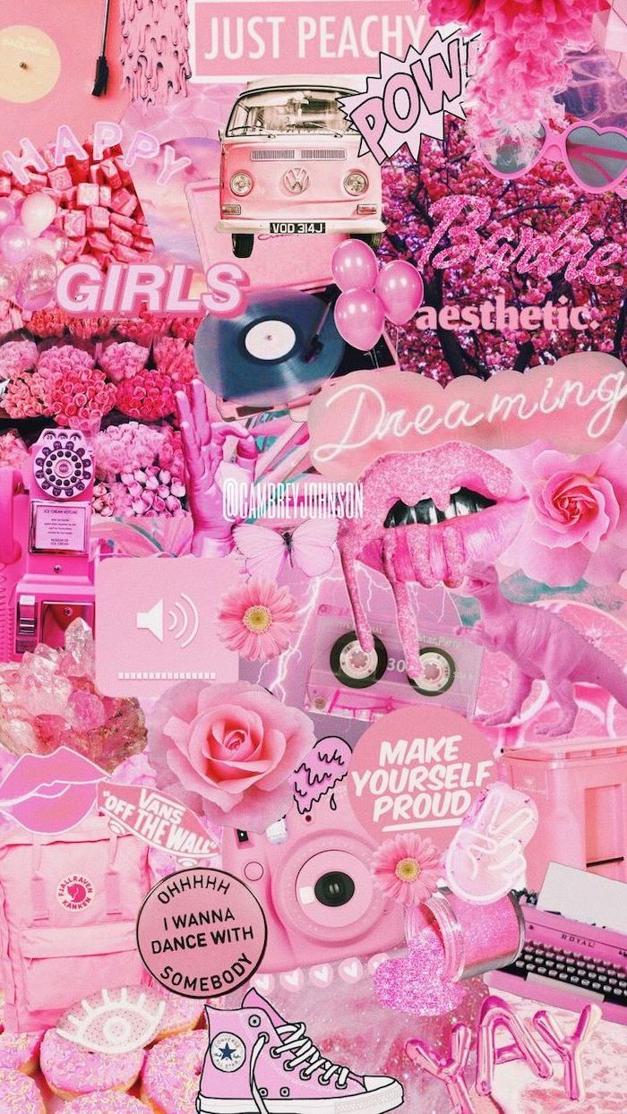 pink colour palette, motivational quotes, girly iphone wallpaper