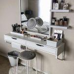 Floating Makeup Vanity Shelf Saubhaya Makeup