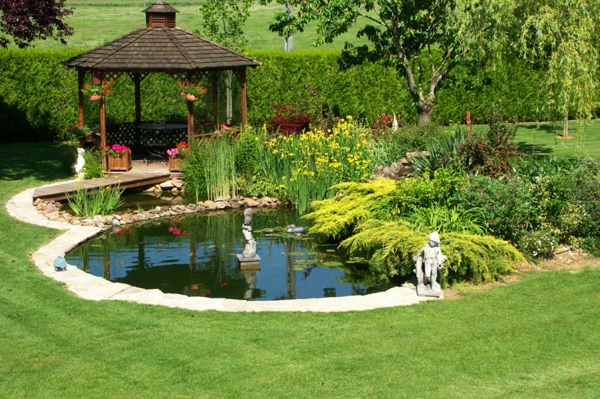 bassin de jardin preforme hors sol