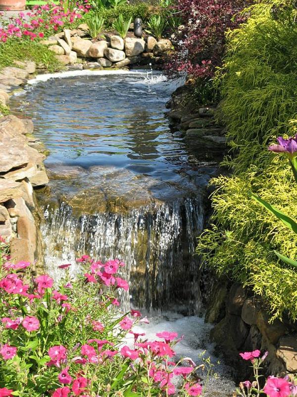 Cascade Et Fontaine De Jardin 69 Dco Pour Les Moments