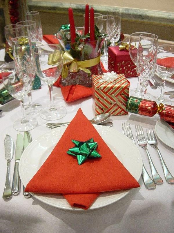 La Dcoration De Table Pour Nol Plaisir Et Style