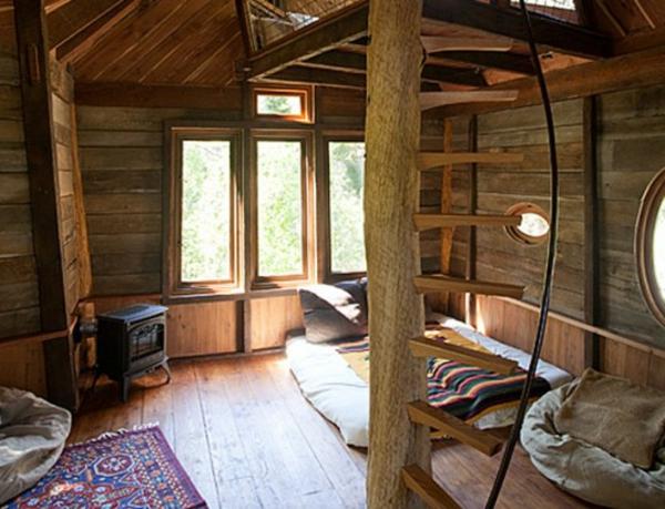 Une Cabane Dans Les Arbres Luxe Nature Et Chic