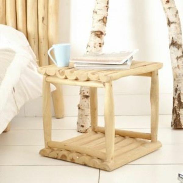 Une Table De Chevet En Bois Choisir Ou Faire Vous