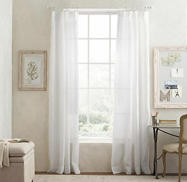 les rideaux en lin naturel simbolisent