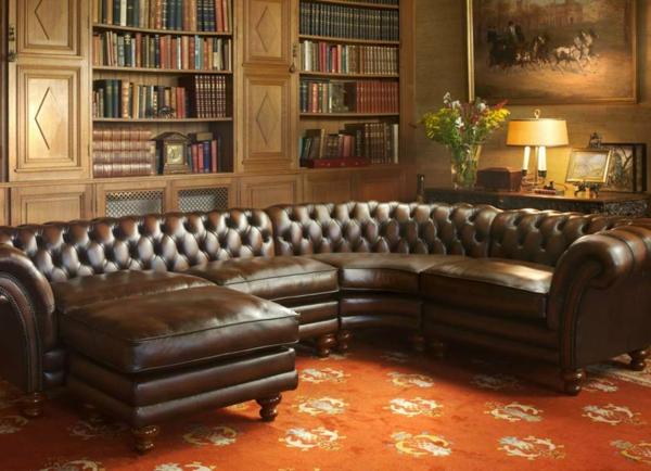 Un Canap Chesterfield Le Chic Et Le Confort La Maison