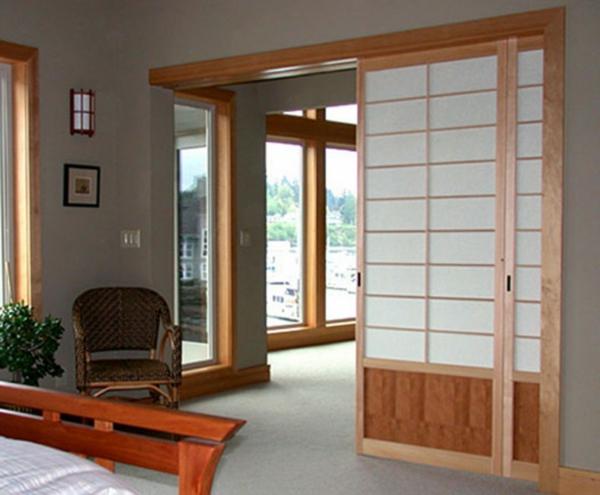 Une Cloison Japonaise Du Style Et De Lintimit Dans L