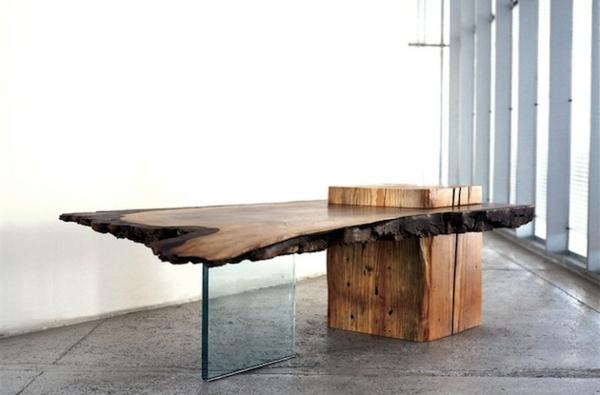 les meubles bois brut la tendence et