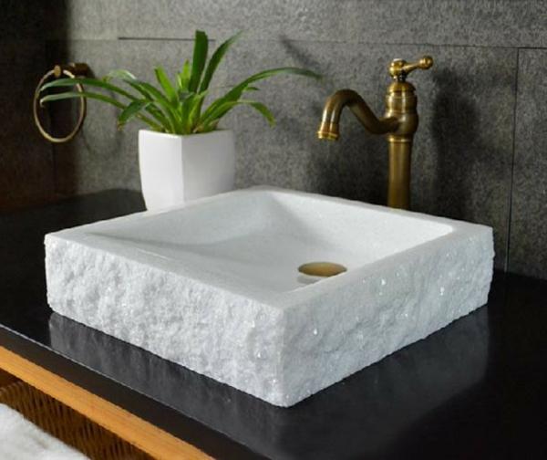 Un Lavabo Vasque En Pierre Grand Choix Archzinefr