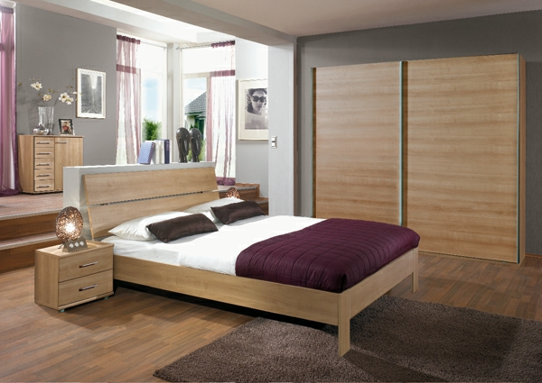 moderne chambre a coucher complete