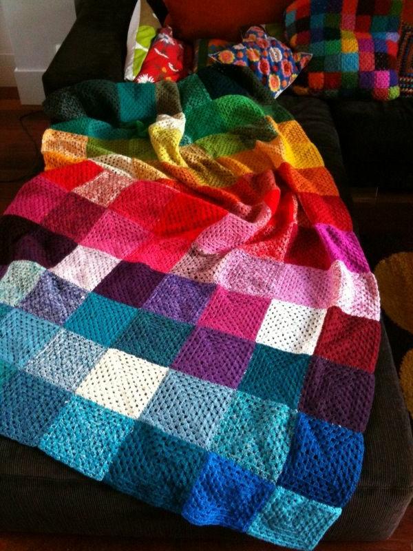 La Couverture Au Crochet Pour Votre Ancien Canap