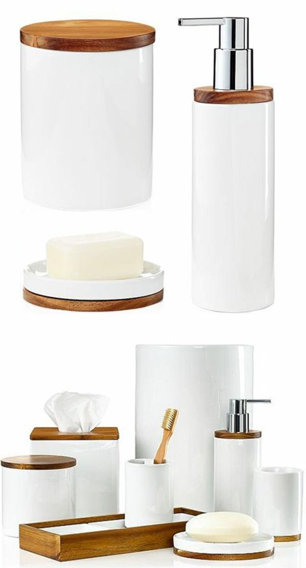 les accessoires de salle de bain pour