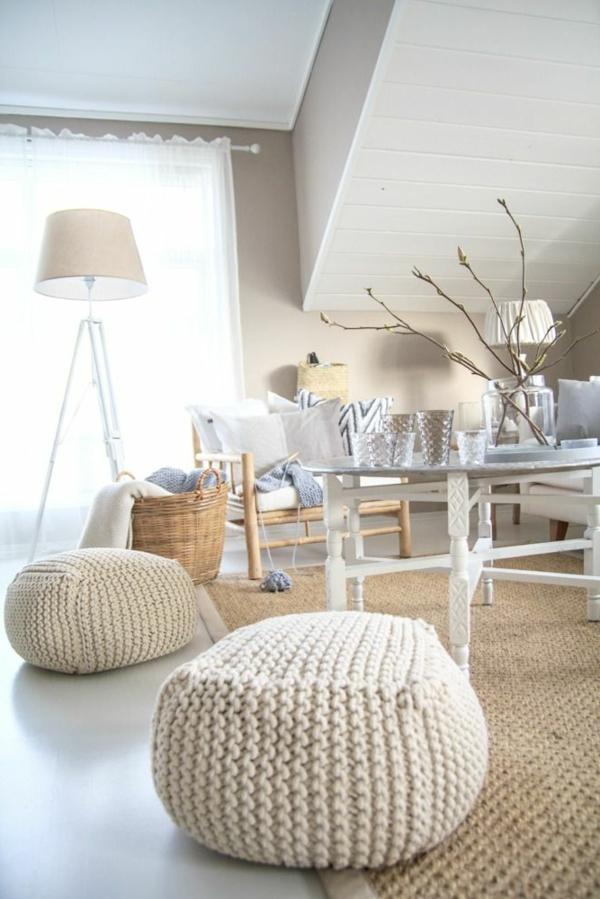 Le Pouf Au Crochet Confort Et Beaut La Maison
