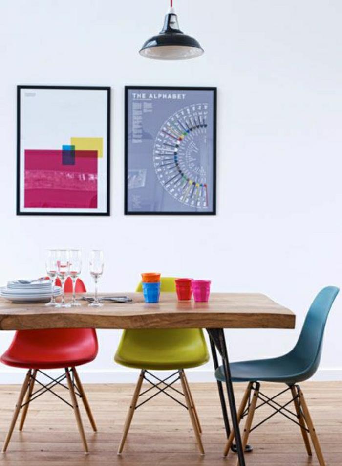 La Chaise Plastique Un Meuble Moderne Pour La Maison