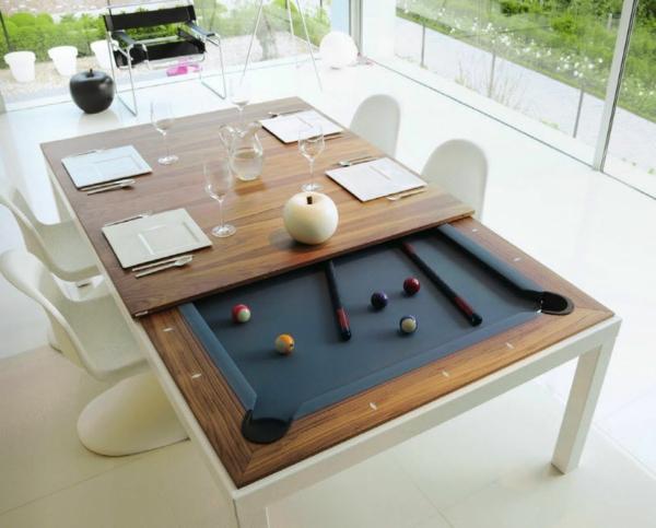 la table de jeu convertible